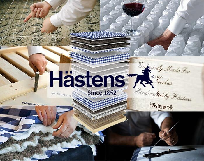 Элитные матрасы Hastens производятся вручную