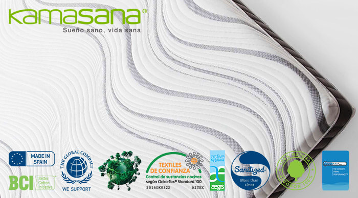 Сертификаты матрасов Kamasana