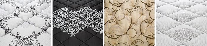 Дизайнерские ткани матрасов Verda
